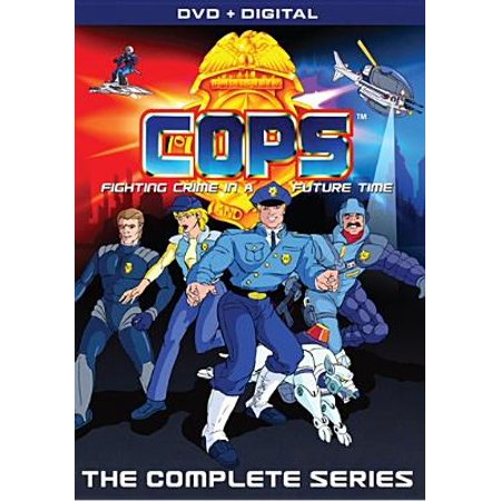 COPS: The Animated Series (DVD) (Animated Halloween Tv Shows)