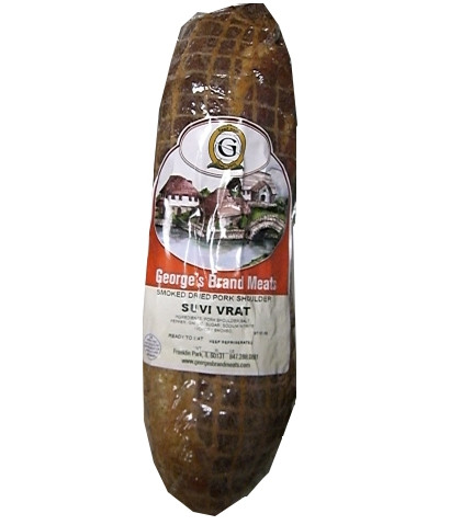 Smoked Dried Pork Shoulder, Suvi Vrat, (Georges) approx. 1.0-1.2 lb by
