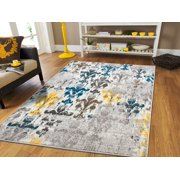 Yellow Area Rugs Walmart Com