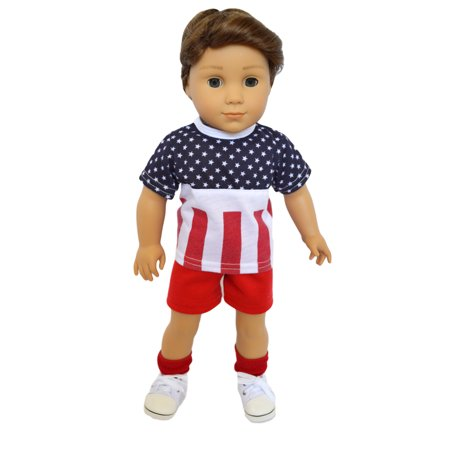 My Brittany's All American Boy Outfit for American Girl Boy Dolls and My Life as Dolls- 18 Inch Boy Doll Clothes ()