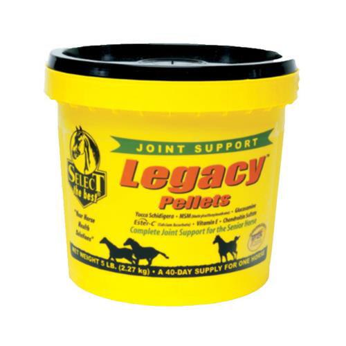 Animal Health International 540507 Legacy Senior Horse Supplement, Pellets, 5-Lbs. - Quantity 1