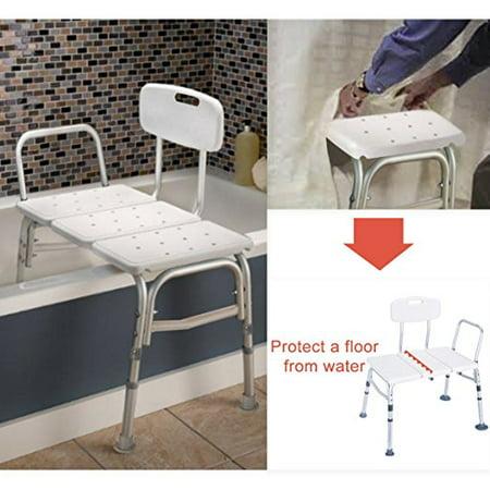 Ktaxon Bath Chiar Plastic Tub Transfer Bench With