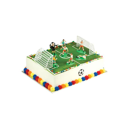 Soccer Cake Topper Soccer Cake Decorations  Cake Kit by A1BakerySupplies (Mini Soccer Cake Topper)