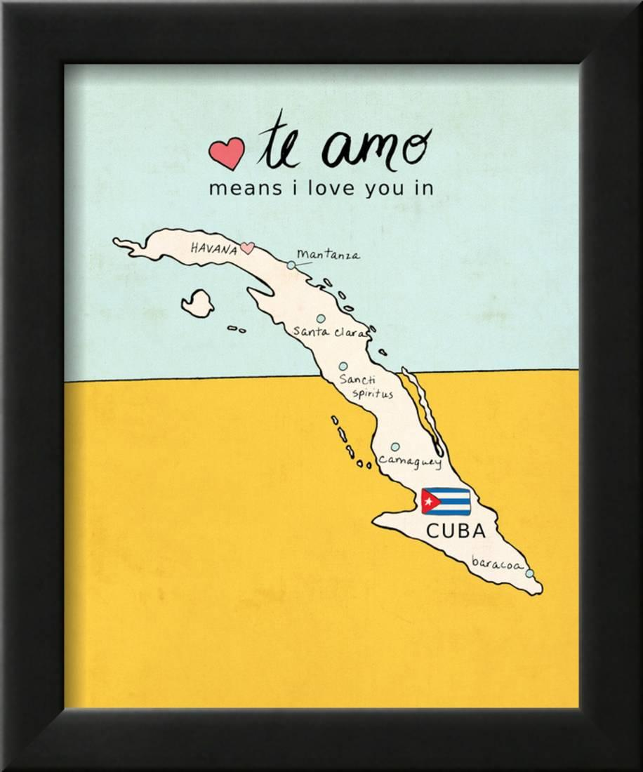 Cuba Framed Print Wall Art By Lisa Barbero - Walmart.com