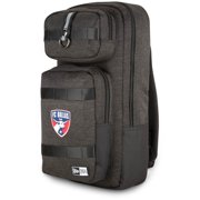 FC Dallas New Era Slim Tech Backpack - Heathered Black