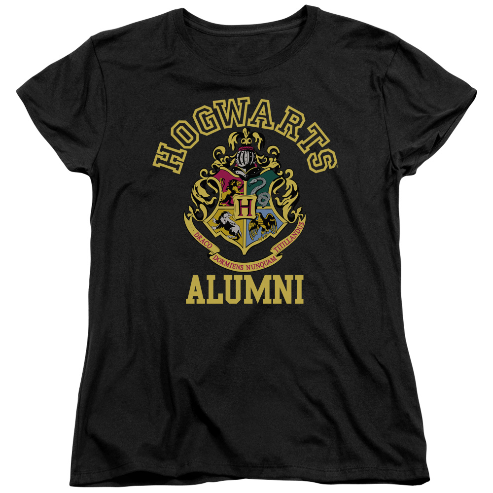 Harry Potter Hogwarts Alumni Womens Short Sleeve Shirt