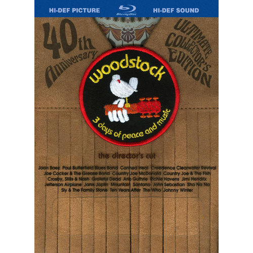 Woodstock: 3 Days Of Peace And Music (40th Anniversary Ultimate Collector's Edition) (Blu-ray) (Fringe Packaging) (Widescreen)