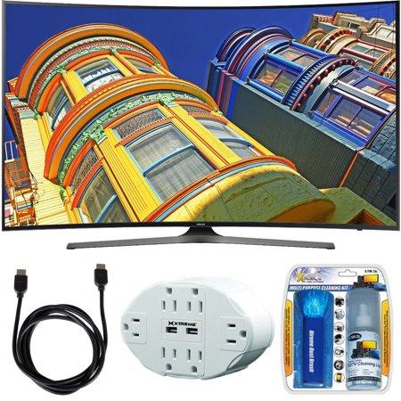 samsung 49 class ku6500 6 series curved 4k ultra hd tv w essential accessory bundle includes. Black Bedroom Furniture Sets. Home Design Ideas