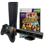Refurbished Xbox 360 Slim 4GB Console with Kinect Sensor and Kinect Adventures game