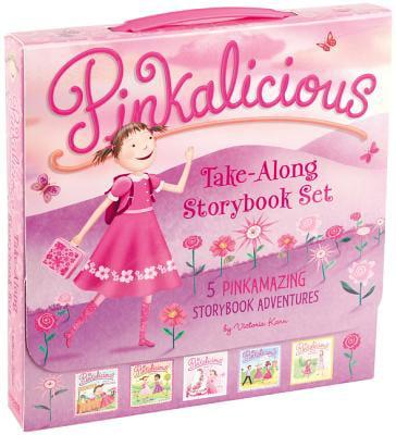 Pinkalicious: The Pinkalicious Take-Along Storybook Set (Paperback)