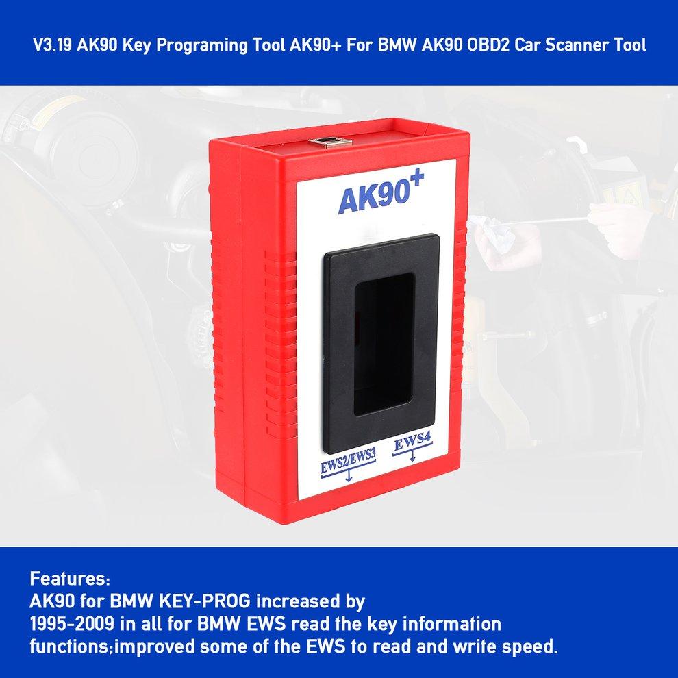 NEW AK90 V3.19 Auto Key Programmer Maker Tool Set for BMW EWS CAS 1995-2009 sz