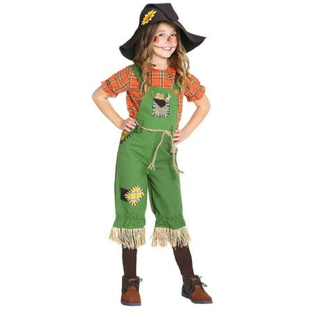 Scarecrow Girls Costume - image 3 of 3