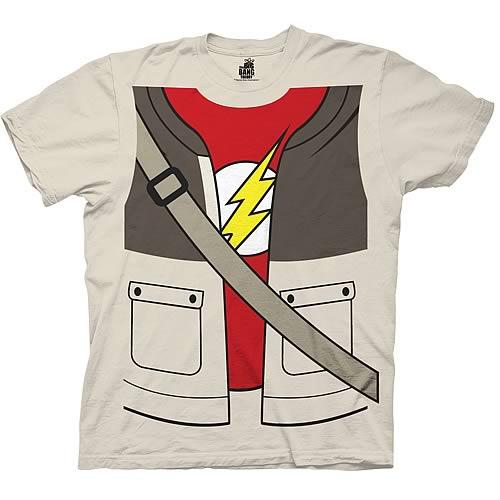 Big Bang Theory Sheldon Trompe Loeil Costume T-Shirt