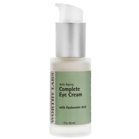 Worthy Eye Cream, Complete Anti-Aging Under Eye Cream with plant collagen. Helps with dark circles, wrinkles, and fine lines.  1fl.