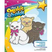 Colorbok Makit Bakit Glitter Suncatcher Kittens