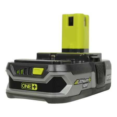 Ryobi Tools P107 18V ONE+ Compact LITHIUM+ Battery (Ryobi Lithium Battery 18v Charger)