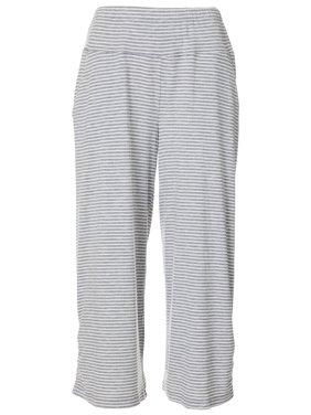 Democracy Womens Striped Knit Wide Leg Pants