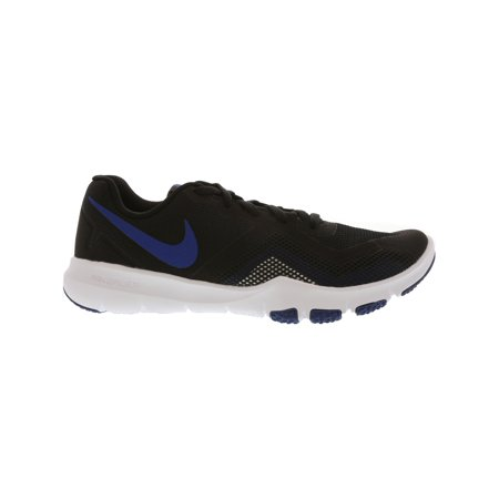 finest selection 1abd3 f18d1 Nike Men s Flex Control Ii Black   Gym Blue - White Ankle-High Training  Shoes ...