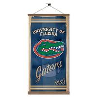 Florida Gators Watercolor Printed Canvas Banner - 15W x 26H x 1D