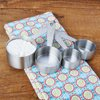 The Pioneer Woman Playful Posy Embossed Stainless Steel Measuring Cups