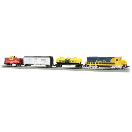 Bachmann Trains N Scale Thunder Valley Freight Train Ready To Run Electric Train Set