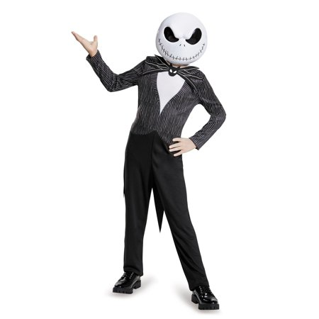 Boy's Jack Skellington Classic Costume - The Nightmare Before Christmas (Jak Costume)