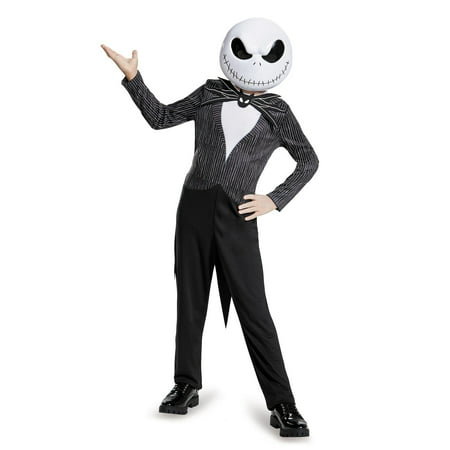 Jack Skellington Female Costume (Boy's Jack Skellington Classic Costume - The Nightmare Before)