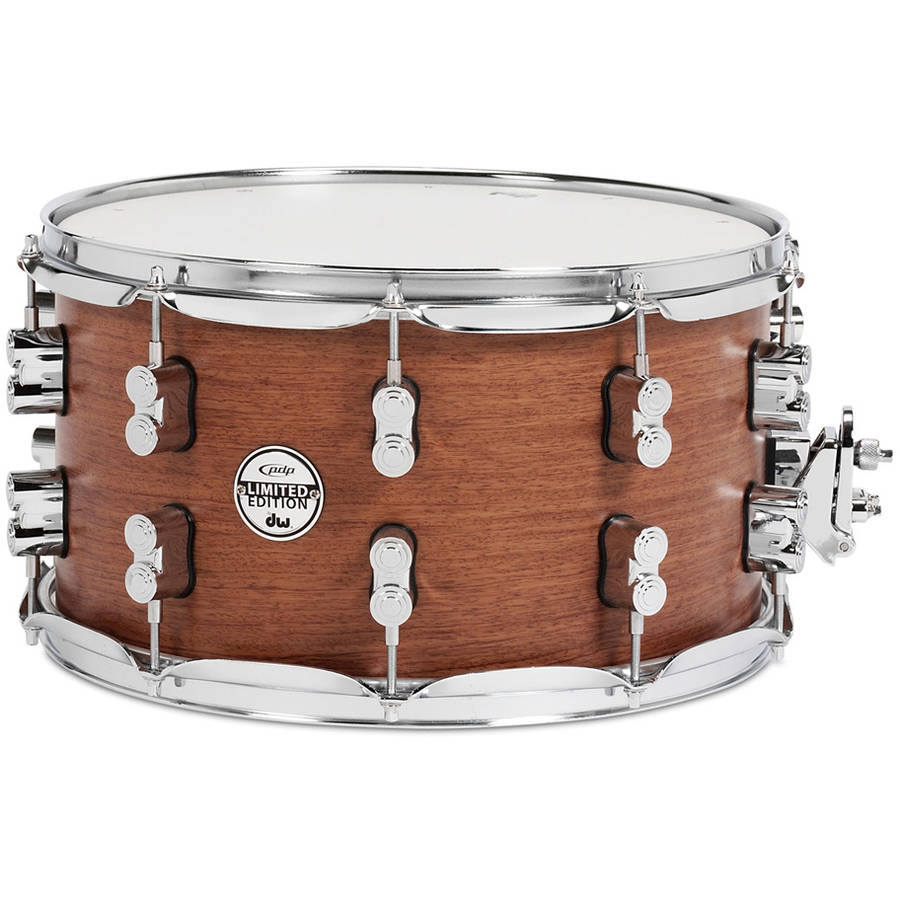 "DW PDP 8""x14"" Limited Edition Bubinga Snare Drum"