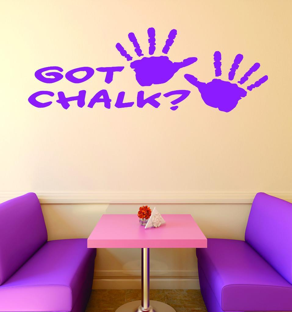 Custom Wall Decal : Got Chalk Gymnastics Sign Teen Girl Bedroom Decoration Home Decor 20x40