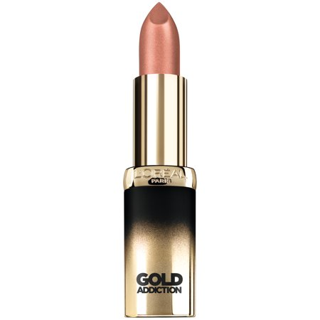 L'Oreal Paris Colour Riche Gold Addiction Satin Lipstick, Nude