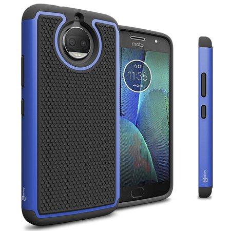 Coveron Motorola Moto G5s Plus Case  Hexaguard Series Hard Phone Cover