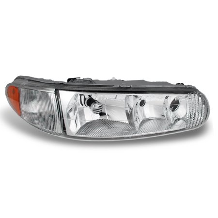 Fit 1997-2005 Buick Century Regal Passenger Side Headlight Lamp Replacement