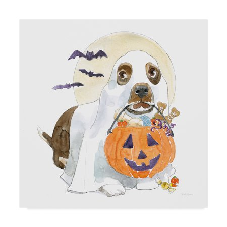 Trademark Fine Art 'Halloween Pets III' Canvas Art by Beth - Halloween Grove Gardens