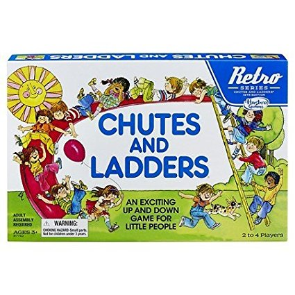 Retro Series Chutes and Ladders, By Hasbro by