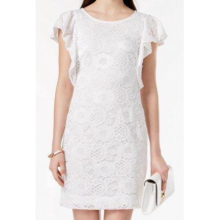 Signature By Robbie Bee Womens Large Petite Sheath Dress ()