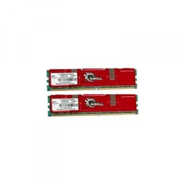 G.Skill NQ Series - Memory - 2 GB : 2 x 1 GB - DIMM 240-pin - DDR2 - 800 MHz / PC2-6400 - CL5 - 1.8 - 2.0 V - unbuffered - non-ECC