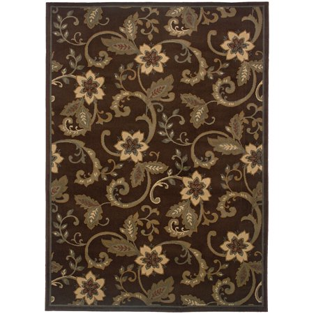 Rectangle Rug/ Amelia 5 Ft. 0 In. X  7 Ft. 6 In./ Casual/ Floral - 5' 0
