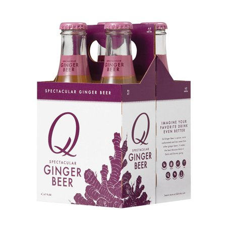 Q Drinks - Ginger Beer - pack of 6 - 6.7 Oz.