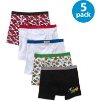 Pokmon, Boys Underwear, 5 Pack Boxer Briefs (Little Boys & Big Boys)