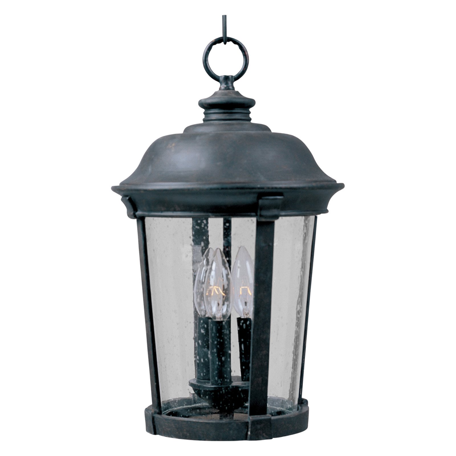 Maxim Dover DC Outdoor Hanging Lantern 20H in. Bronze by Maxim