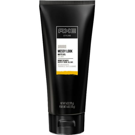 Axe Messy Look Matte Hold Gel 6 oz (Pack of 2)