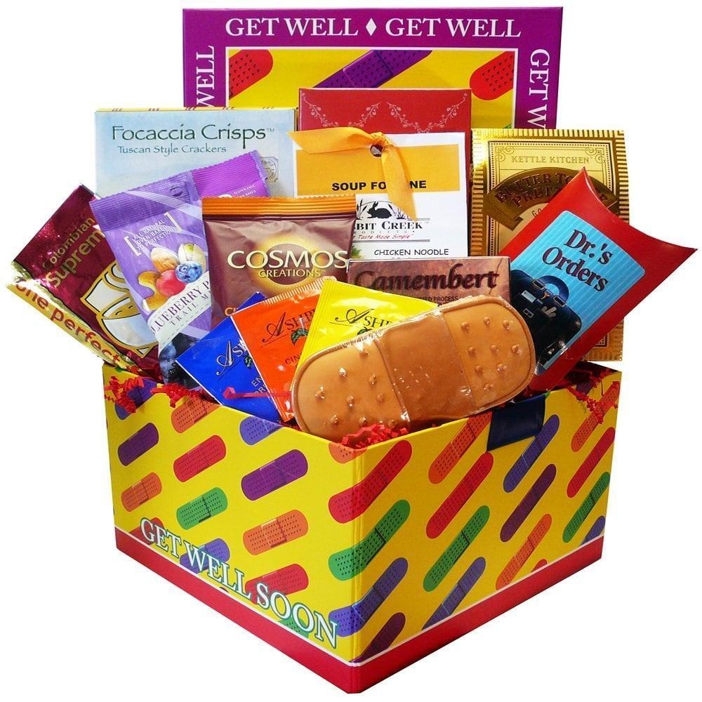 Art of Appreciation Gift Baskets Get Well Soon Bandaid Ca...