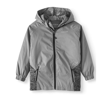 Hooded Zip Up Hybrid Jacket (Big Boys)