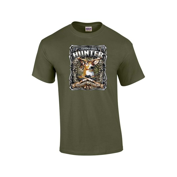 Hunting T-Shirt American Hunter WhiteTail Fever-military-large