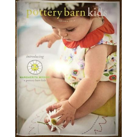 Pottery Barn Kids February 2017 Catalog Introducing Margherita - Children Catalog