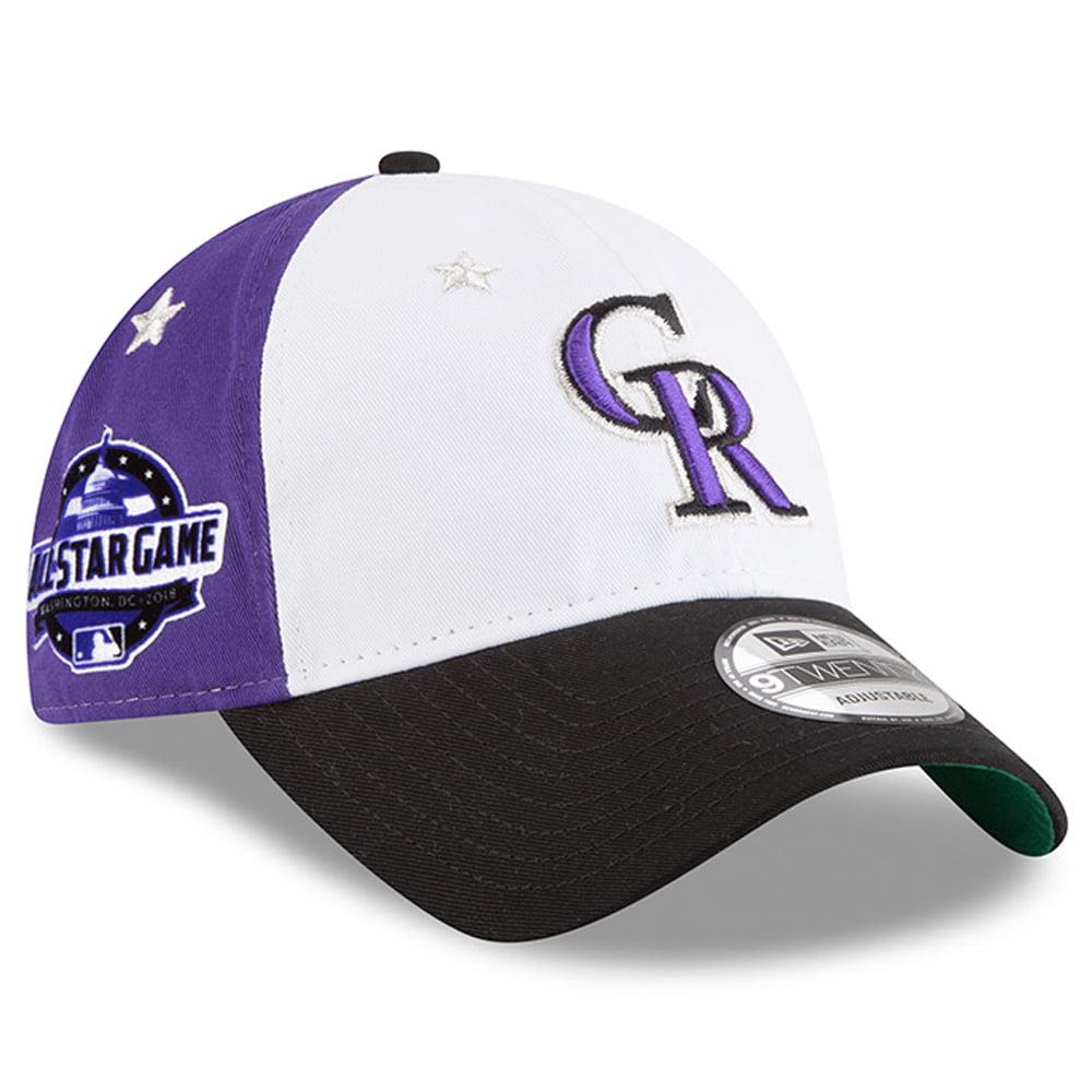 Colorado Rockies New Era 2018 MLB All-Star Game 9TWENTY Adjustable Hat - White/Black - OSFA