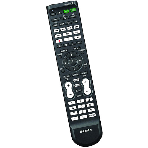 Sony YRMVZ320 7-Device Universal Remote with Dual IR Emitters , NEW!!