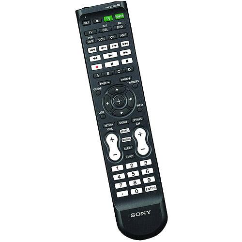 Sony YRMVZ320 7-Device Universal Remote with Dual IR Emitters , NEW!!