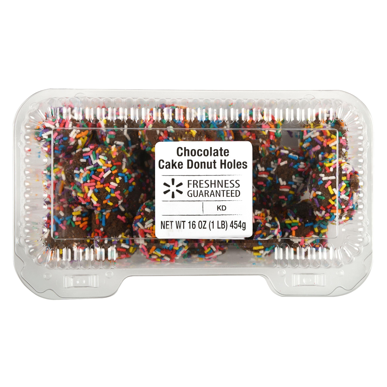 Freshness Guaranteed Chocolate Cake Donut Holes, 16 oz