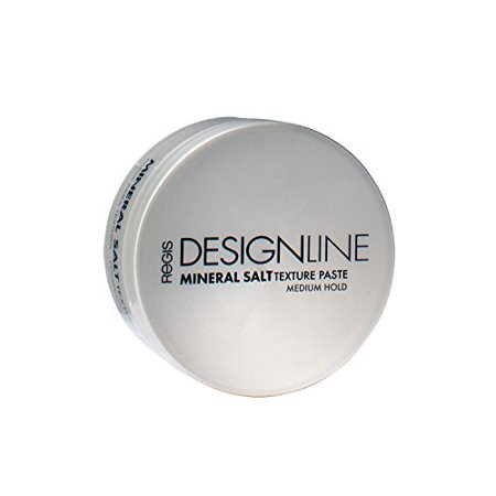 Mineral Salt Texture Paste, 2 oz - Regis DESIGNLINE - Ultimate Multi-Tasking Styling Paste with Semi-Matte Finish for Damp, Dry, Long, or Short (Best Hair Styling Paste)
